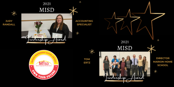 Outstanding Staff Receive 2021 MISD Leader Awards