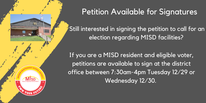 MISD Petition to Voters