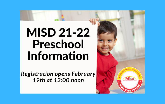 21-22 Preschool Registration